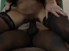 Oma will interracial Sex